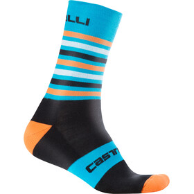 Castelli Gregge 15 Socks black/orange fluo